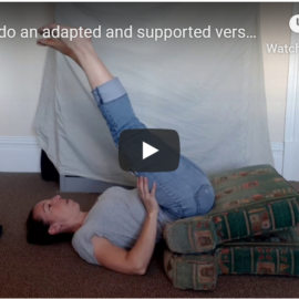 why there are no headstands or shoulderstands in my